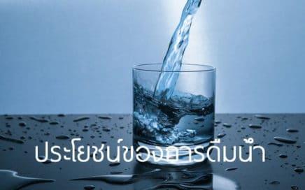 ประโยชน์ของน้ำ ดื่มน้ำวันละ 8 แก้ว